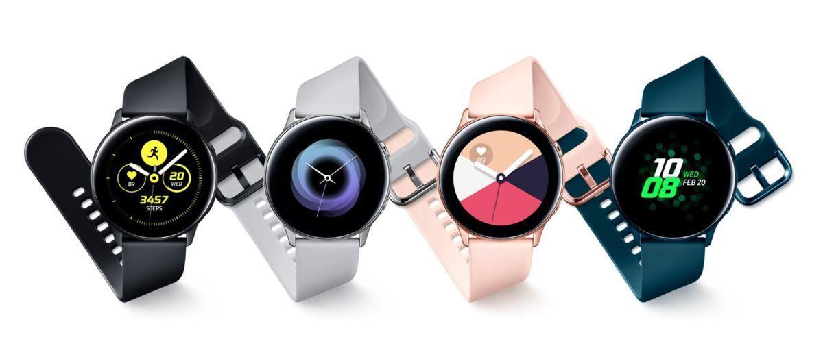 Samsung Galaxy Watch Active 2 verfügt möglicherweise über eine berührungsempfindliche Blende 1