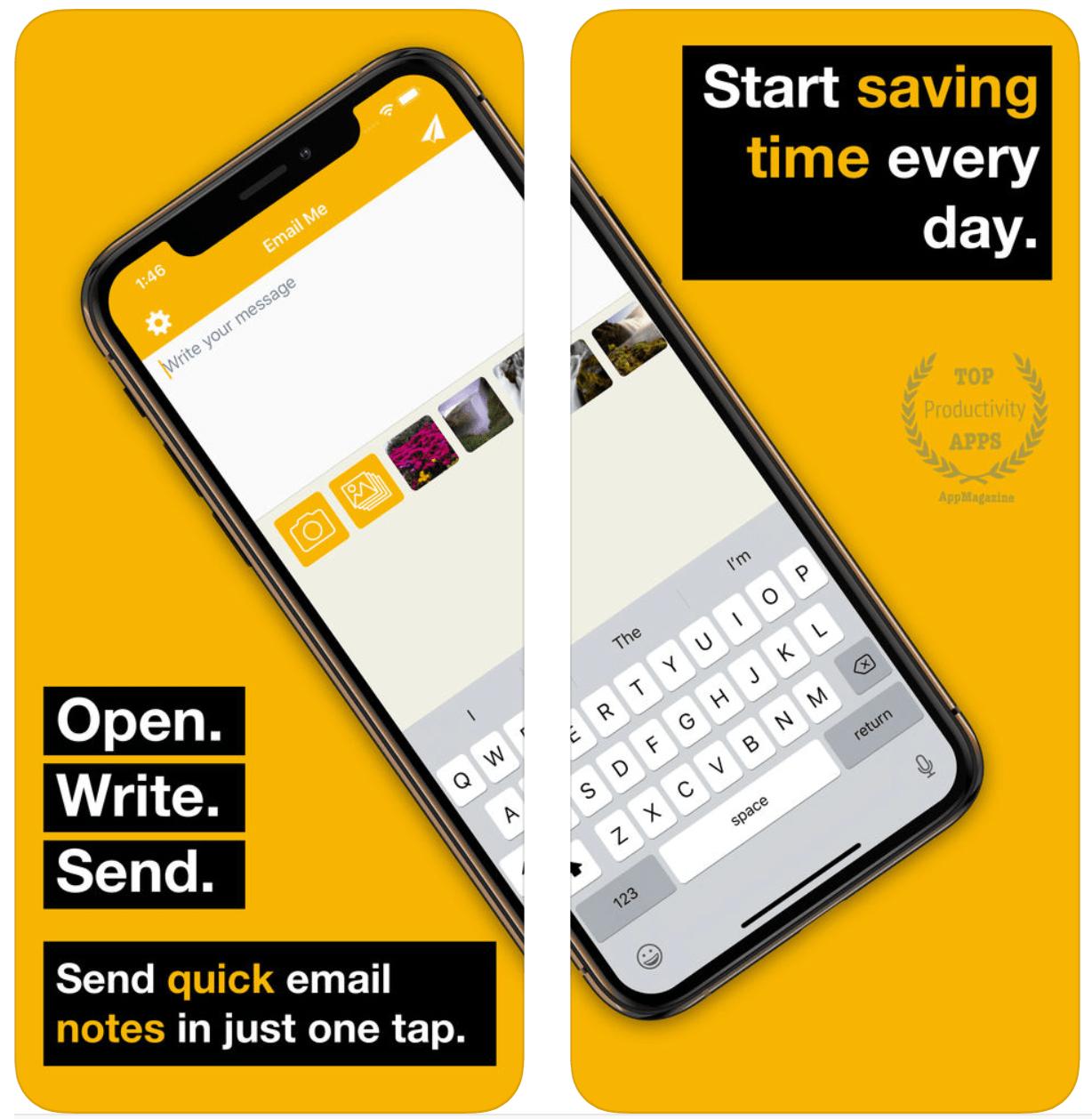 Senden Sie mir, Ezi, Strongr und anderen Apps eine E-Mail, um dieses Wochenende zu testen 1