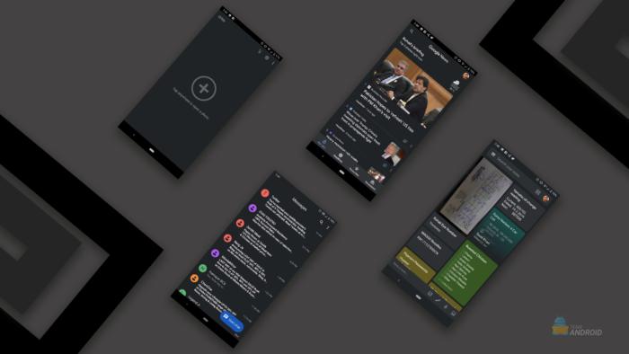 Aktivieren Sie den Dunklen Modus, Google Apps