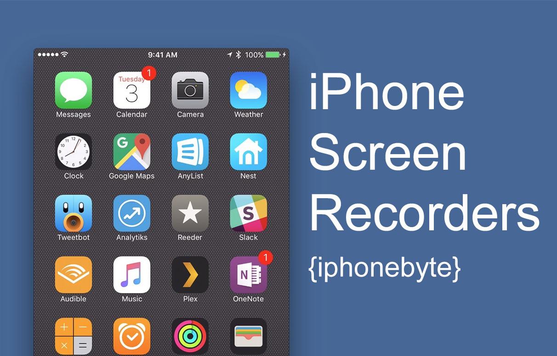 So zeichnen Sie den Bildschirm Ihres iPhones und iPads auf: iOS 11 und niedriger 1