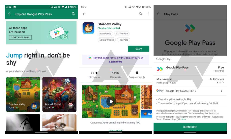 Google Play Pass nimmt an Tests zur Herausforderung teil Apple Arcade für Ihren Geldbeutel 1