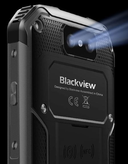 Blackview BV9500 Plus bietet eine Doppelkamera mit 16 MP und eine Frontkamera mit 13 MP