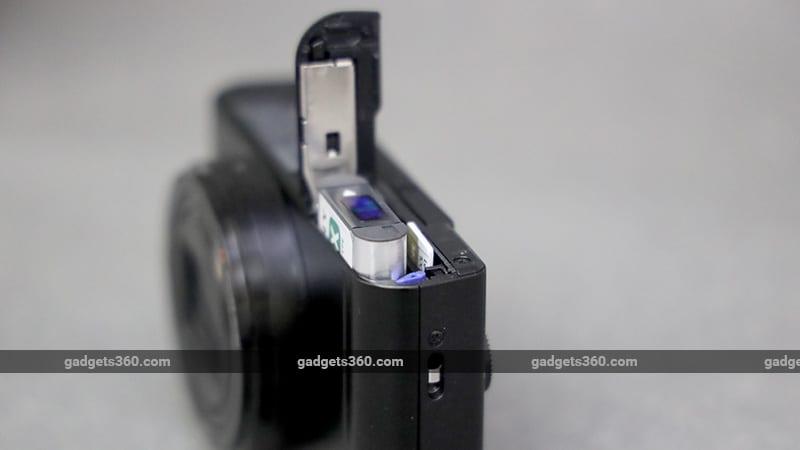 Sony Cyber erschossen DSC WX800 Akku ndtv Sony