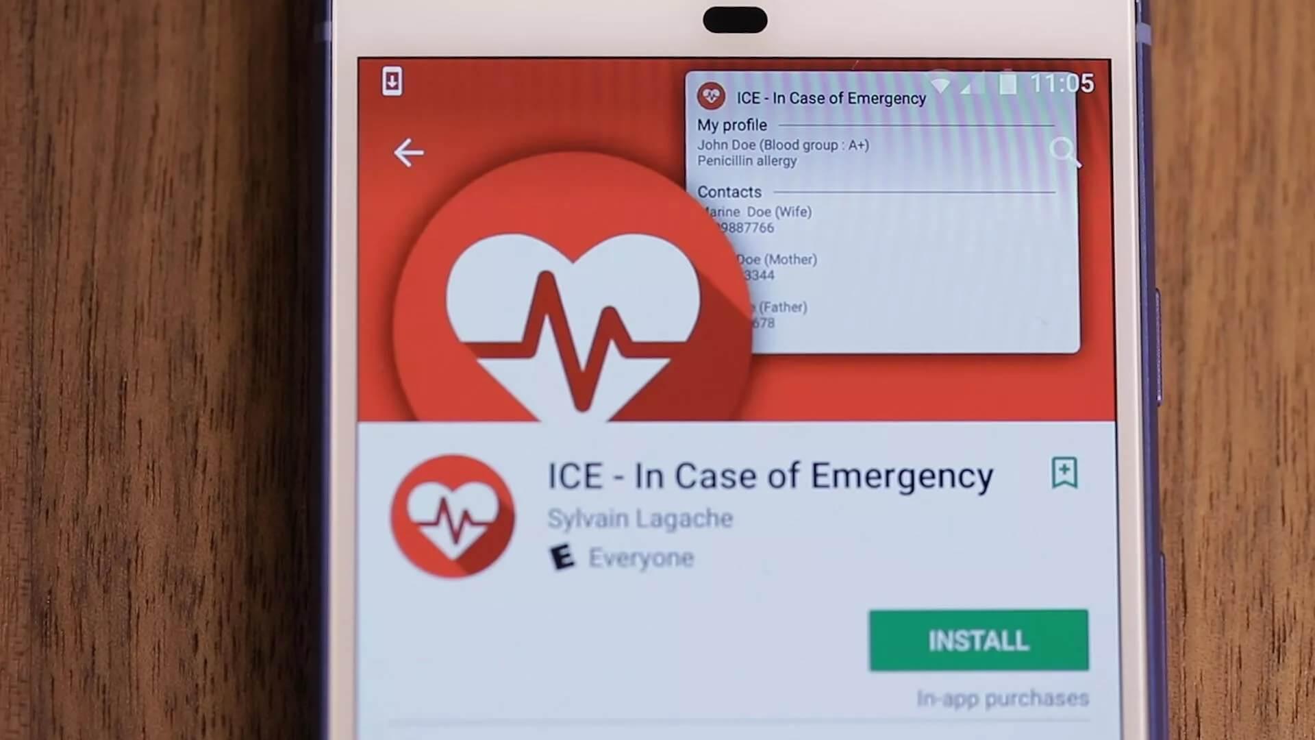 Eis-Lebensretter im Notfall