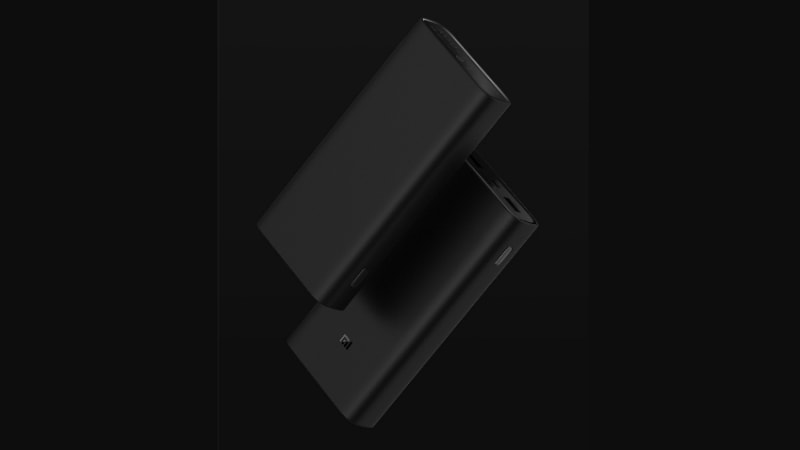 Xiaomi Mi Power Bank 3 Pro Edition With 2-Way Fast Charging Support, USB Type-C Port, 20,000mAh Battery Launched
