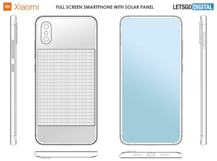 Xiaomi patentiert das Smartphone mit Solarladung 1