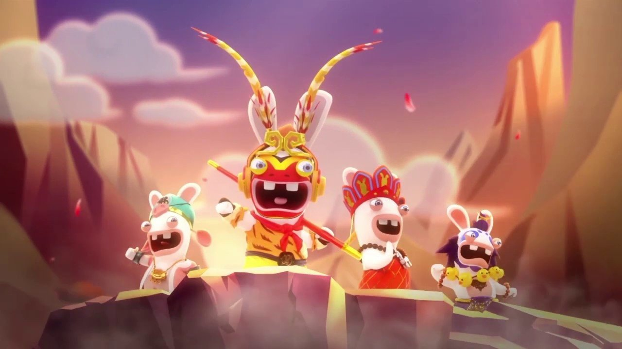 Video: Hier ist Ihr erster Blick auf Rabbids: Adventure Party On Nintendo Switch