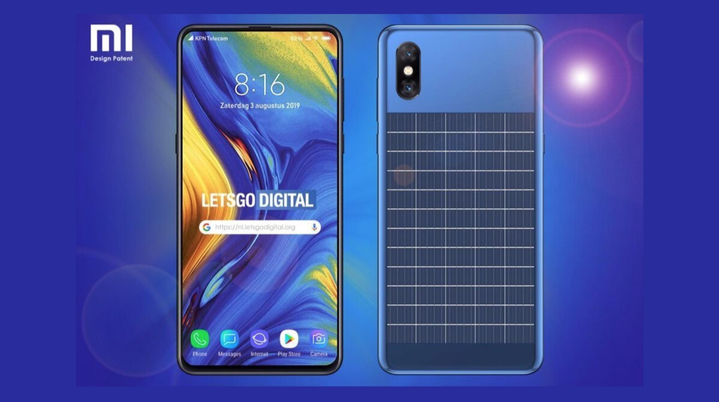 Xiaomi entwickelt ein Smartphone mit Solarpanel