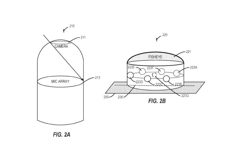 Microsoft patentiert AI-Gerät mit Fischaugen-Kamera und mehreren Mikrofonen 2