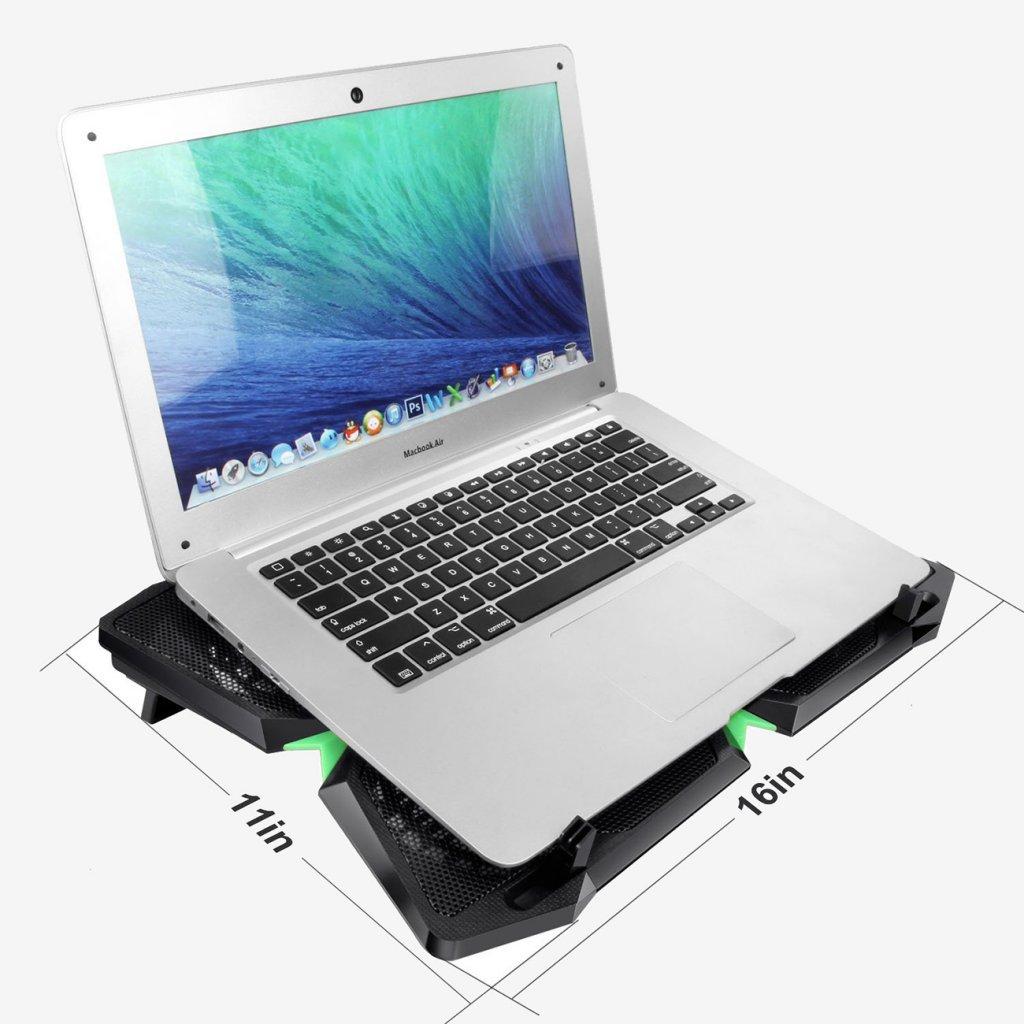 Lust auf Kauf Laptop Cooling Pad Messungen