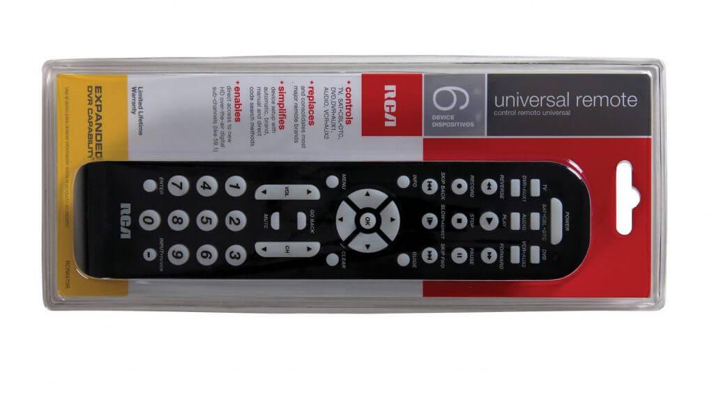 Insignia Universal-Fernbedienung für 4 Geräte