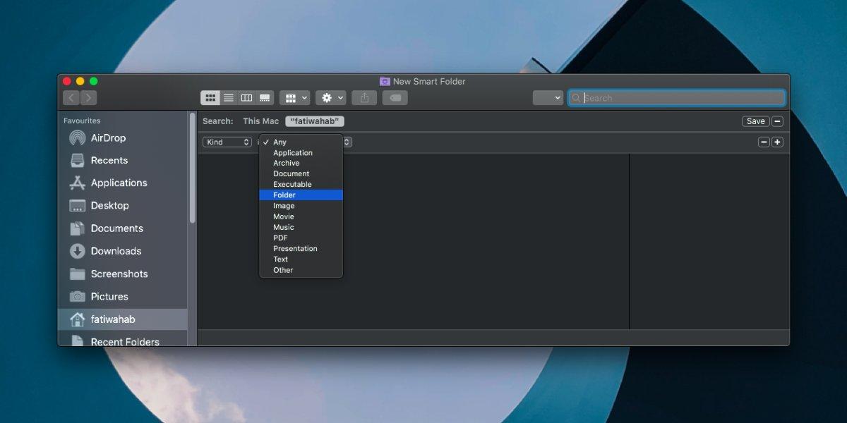 """So fügen Sie unter macOS der Seitenleiste """"Finder"""" """"Recent Folders"""" hinzu 1"""