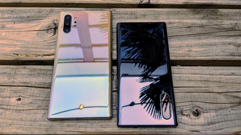 Samsung Galaxy Note  10 vs Note 10+ Bewertung