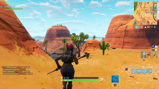 Fortnite Staffel 5 Karte - Lazy Links, Paradise Palms Desert Area 4