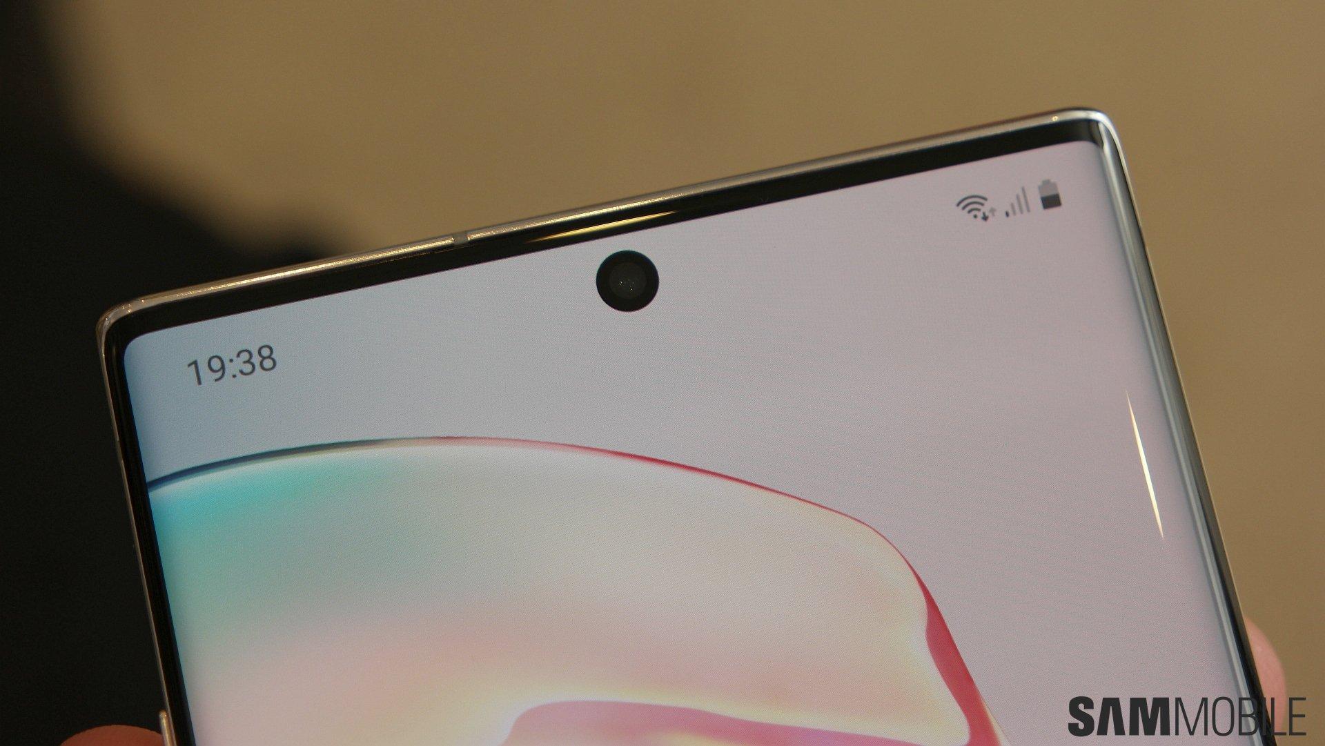 Galaxy Note  10 praktische Bewertungen