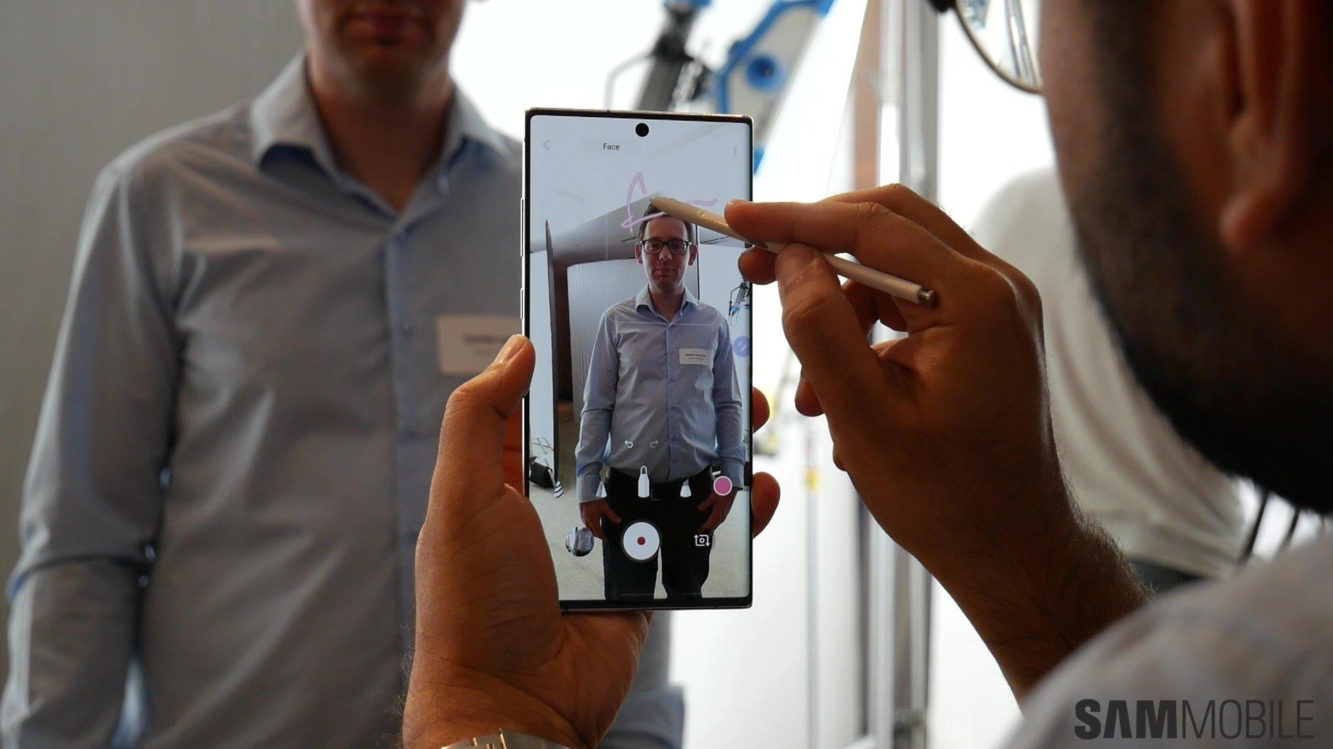 [Video] Galaxy Note  10 /Note 10 Plus zum Anfassen: Samsungs 1-2 Schlag 5