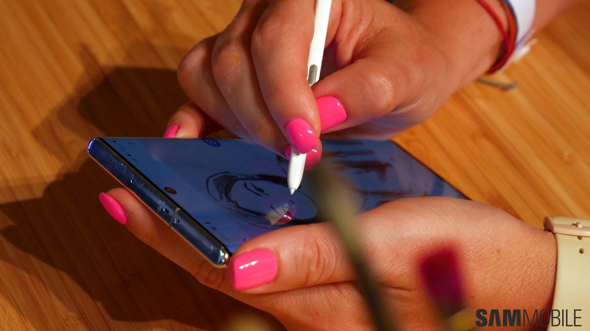[Video] Galaxy Note  10 /Note 10 Plus zum Anfassen: Samsungs 1-2 Schlag 7