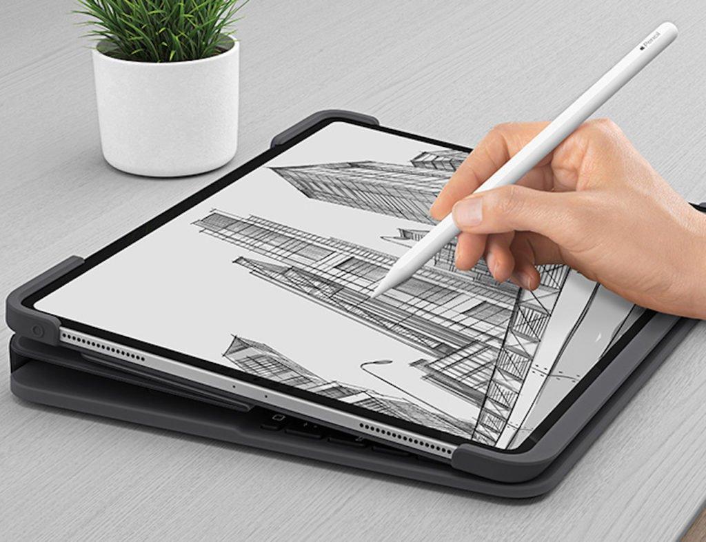 Logitech Slim Folio Pro iPad Pro-Tastaturhülle