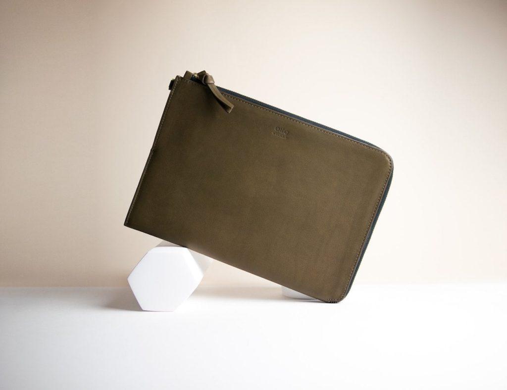 Alto Leather Clutch Eleganter iPad Pro-Fall