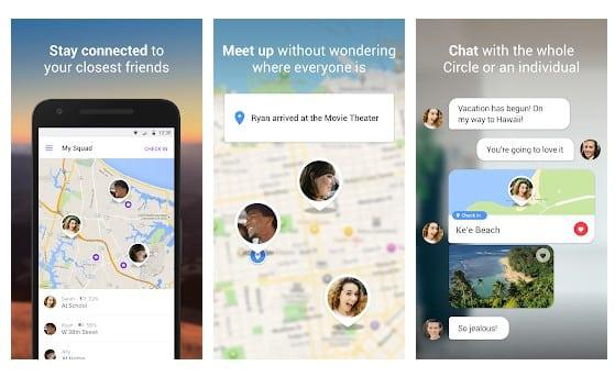 Freunde Orten App Android