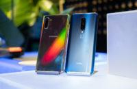 Samsung Galaxy Note  10 Plus gegen OnePlus 7 Pro zurück auf Tabelle 1