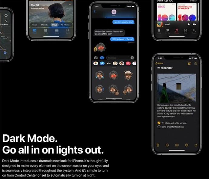 Tut Apple Musik haben einen dunklen Modus? 1