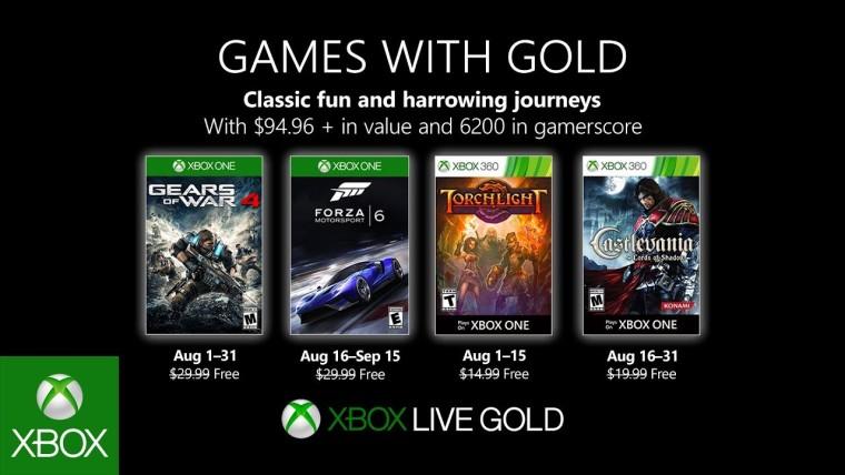 Spiele mit Gold: Gears of War 4 und Torchlight sind jetzt kostenlos