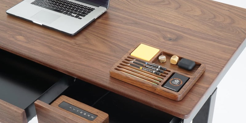 Sean Woolsey Effizient gestalteter Smart Desk