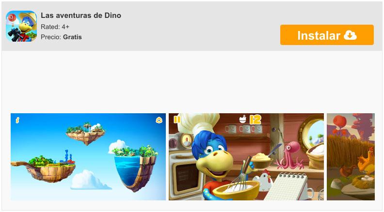 Die Abenteuer von Dino von DANONE für iPhone und iPad 5