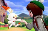 Pokemon Sword und Pokemon Shield Screenshot Fauststoß mit Scorbunny