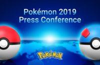 Bild der Pressekonferenz 2019 der Pokemon Company.