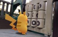 Dies ist ein Foto von Pikachu auf einem Spielplatz für die besten pokemon go iv Taschenrechner für Android