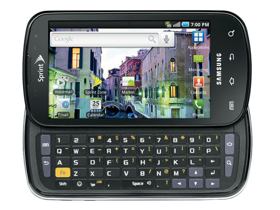 Samsung Epic 4G Android Smartphone Bewertung 2