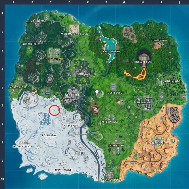 Fortnite Drift Durrr Burger Head, Dinosaurier, Stone Head Statue Standorte - Wie man die neue Road Trip Challenge abschließt 3