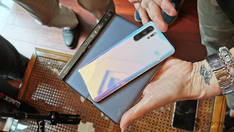 Mit dem Mate X, einer Kamera, die mit Kirin 990 und P30 vergleichbar ist, können Sie Huawei zum Anfassen nutzen 3