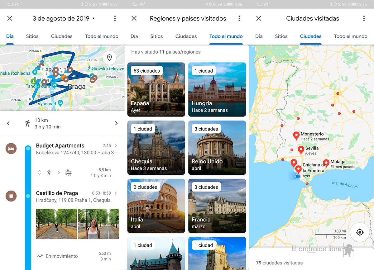 Mit dem Chronologie-Update wird Google Maps zum Reisetagebuch 1