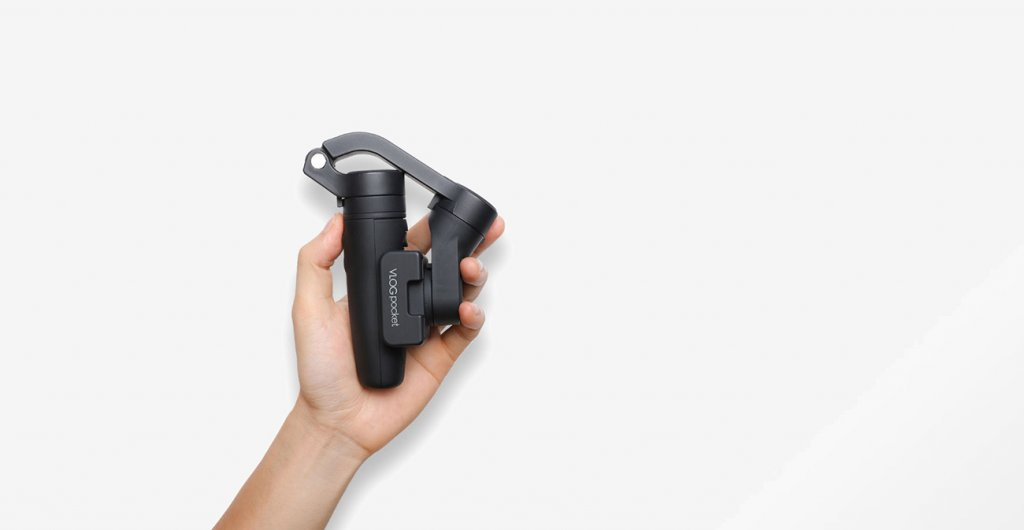 Feiyu VLOG Pocket Smartphone Gimbal gefaltet