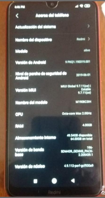"""Redmi Note 8  na foto: parece mais bonito do que Note 7 3""""width ="""" 446 """"height ="""" 839"""