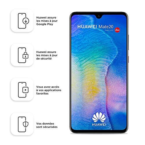 Huawei Mate20 128 GB / 4 GB Dual-SIM-Smartphone - Schwarz (Westeuropäisch)