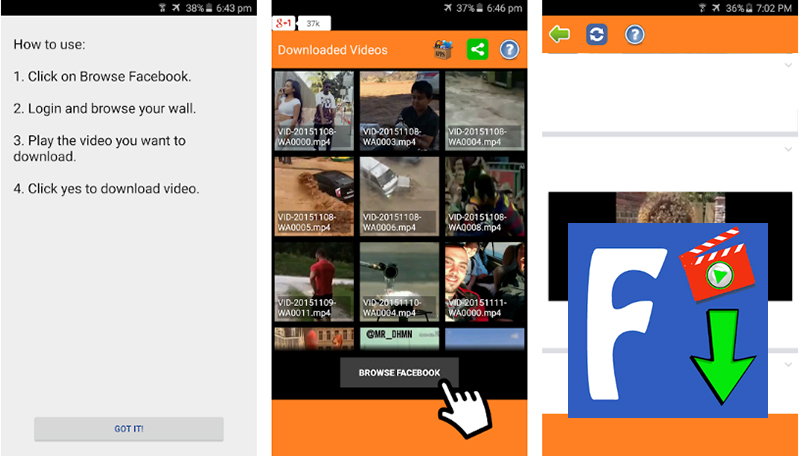 Video Downloader für Facebook