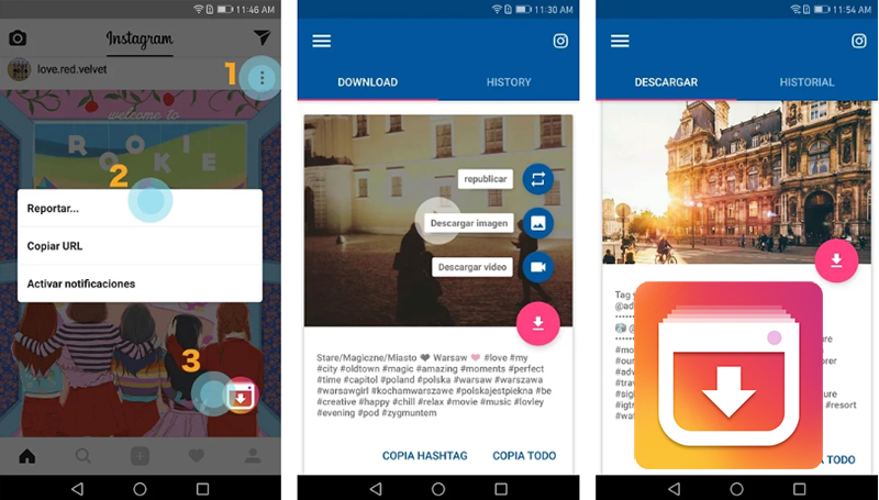 Video Downloader für Instagram