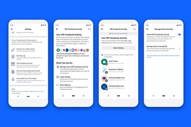 """Was ist FacebookDas Tool """"Verlauf löschen"""" und wie funktioniert es? 4"""