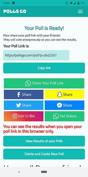 So führen Sie eine Umfrage bei Snapchat durch 5