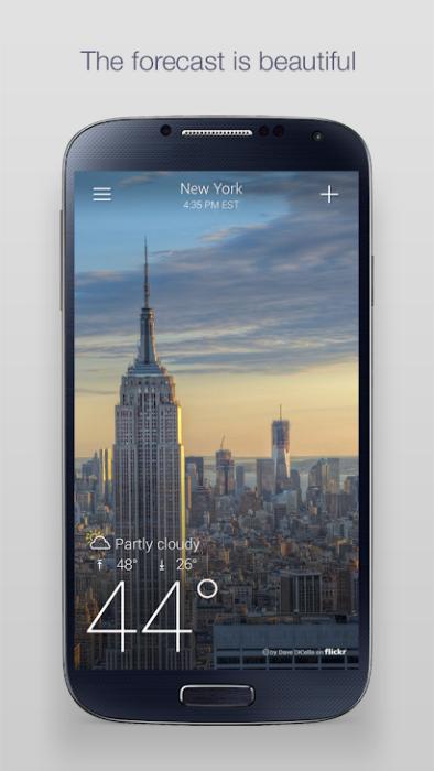 Beste Wetter Apps für Android installieren 3