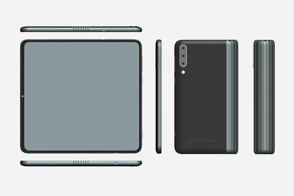 Zwei faltbare TCL-Telefone treten aus, darunter eine klappbare Klapphandy