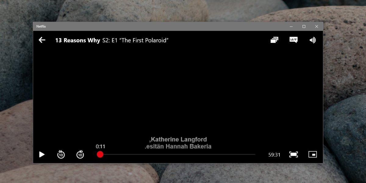 1️⃣ So laden Sie externe Untertitel in der Netflix UWP-App ...