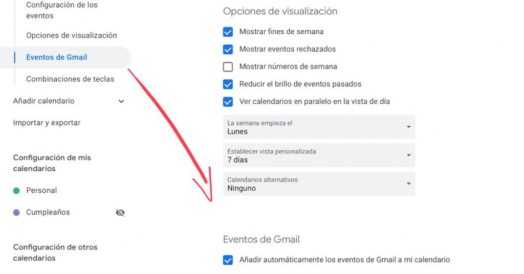 Google Kalender-Spam