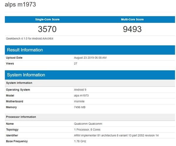 Meizu 16s Pro kommt mit dem neuen Snapdragon 855+ Chipsatz in Geekbench an 2