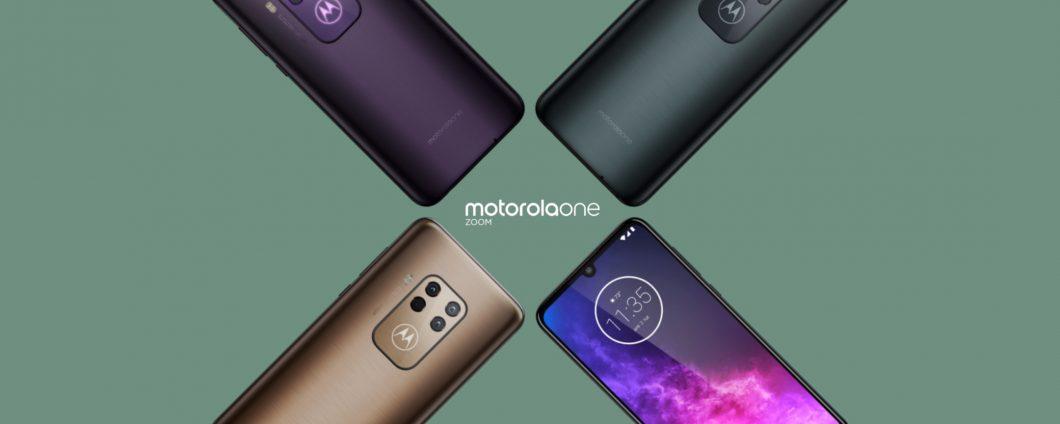 Motorola One Zoom: 5-facher Hybrid-Zoom und drei Farben