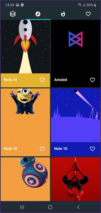 Beste Wallpaper Apps für das Samsung Galaxy Note  10 und Note 5